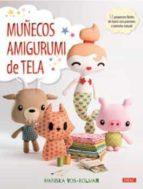 muñecos amigurumi de tela-mariska vos-bolman-9788498745757