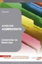 auxiliar administratiu universitat de barcelona. temari 9788499245157