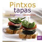 pintxos, tapas, bocadillos y sandwiches-9788499281957