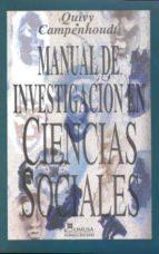 manual de investigacion de ciencias sociales 9789681843557