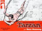 tarzán. tiras diarias nº 1: el hombre mono regresa-russ manning-9789898355157
