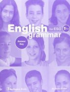 english grammar for eso (1st cicle) (answer key) 9789963473557