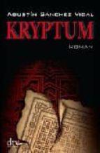 kryptum agustin sanchez vidal 9783423210867
