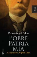 pobre patria mía (ebook)-pedro angel palou-9786070707667