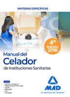 manual del celador de instituciones sanitarias. materias especificas-9788414214367