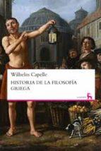 historia de la filosofia griega-wilhelm capelle-9788424936167