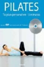pilates: tu plan personal en 15 minutos (incluye dvd)-alycea ungaro-9788425342967