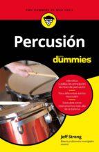 percusión para dummies (ebook)-jeff strong-9788432901867