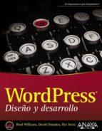 wordpress. diseño y desarrollo david damstra 9788441533967