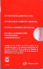 pack reformas procesales : ley de enjuiciamiento civil, ley de en juiciamiento criminal, ley jurisdiccion social, contencioso administrativo. 9788447036967