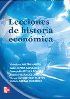 El libro de Lecciones de historia economica autor VV.AA. TXT!
