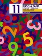 PASO A PASO 11: CALCULO Y PROBLEMAS: DIVISION