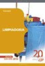 LIMPIADOR/A. TEMARIO