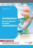 ENFERMERO/A DEL SERVICIO NAVARRO DE SALUD-OSASUNBIDEA. TEMARIO, V OL. I