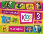kids 3 años 3º trimestre ed 2013-9788468309767