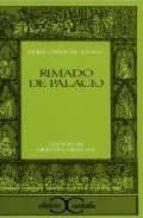 rimado de palacio (2ª ed.)-pedro lopez de ayala-9788470394867