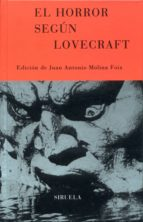 el horror segun lovecraft-9788478446667