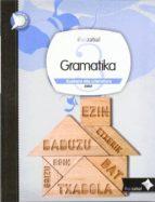 gramatika 3º bigarren hezkuntza dbh ibaiberri 9788483946367