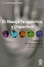 el masaje terapeutico jesus vazquez gallego 9788486961367
