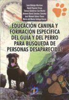 educación canina y formación específica del guía 9788490520567