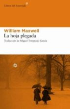 la hoja plegada william maxwell 9788493544867