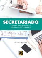 secretariado. gestion administrativa y asistencia a la direccion-marisa tormo navarro-9788494345067
