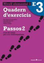 passos 2. quadern d exercicis elemental 3-9788499212067