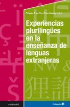 experiencias plurilungües en la enseñanza de lenguas extranjeras (ebook)-9788499219967