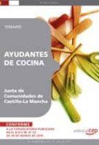ayudantes de cocina. junta de comunidades de castilla la mancha. temario 9788499377667