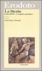 le storie: libri iii-iv testo greco a fronte. l imperio persiano-9788811363767