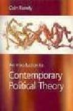 Introduction to contemporary social theory FB2 EPUB por Colin farrelly 978-0761949077