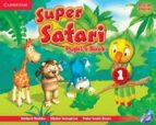 super safari 1 pupil s book with dvd-rom-9781107476677
