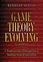 game theory evolving (ebook)-herbert gintis-9781400830077