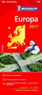 mapa national europa 2017-9782067218277