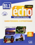 echo b1.1 cahier apprentissage jacques pecheur jacky girardet 9782090385977