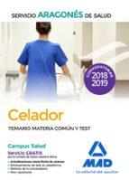 celador del servicio aragonés de salud (salud-aragón). temario materia común y test-9788414218877
