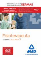 fisioterapeuta del servicio de salud de la comunidad de madrid (sermas) temario (vol. 3)-9788414219577