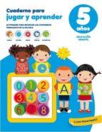 cuaderno para jugar y aprender con sellos 5 años 9788416425877