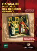 manual de historia del derecho español javier alvarado planas 9788416466177