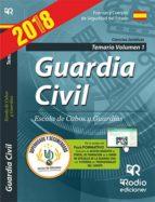 GUARDIA CIVIL CIENCIAS JURIDICAS 2017: TEMARIO (VOL. 1)