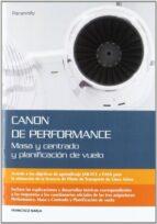 canon de perfomance: masa y centrado y planificacion de vuelo francisco narla 9788428332477