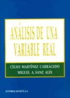 analisis de una variable real celso martinez carracedo miquel sanz alix 9788429150377