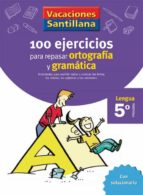5 vacaciones gramatica y ortografia (educacion primaria) 9788429407877