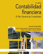 contabilidad financiera: el plan general de contabilidad (4ª ed.) 9788436837377