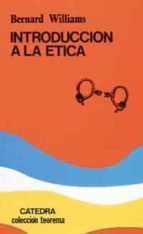 introduccion a la etica (3ª ed.) bernard williams 9788437603377
