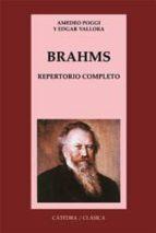 brahms: repertorio completo amedeo poggi edgar vallora 9788437617077