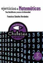 ejercicios de matematicas para bachillerato (chuletas)-9788467027877