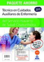 TÉCNICO EN CUIDADOS AUXILIARES DE ENFERMERÍA DEL SERVICIO NAVARRO DE SALUD-OSASUNBIDEA (INCLUYE VOLUMEN 1 Y 2, TEST Y SIMULACROS DEEXAMEN)