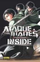 ataque a los titanes inside-hajime isama-9788467919677