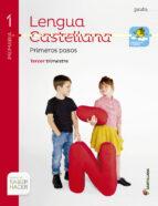 lengua pauta m.ligera 1 primaria edicion 2014 trimestres 9788468018577